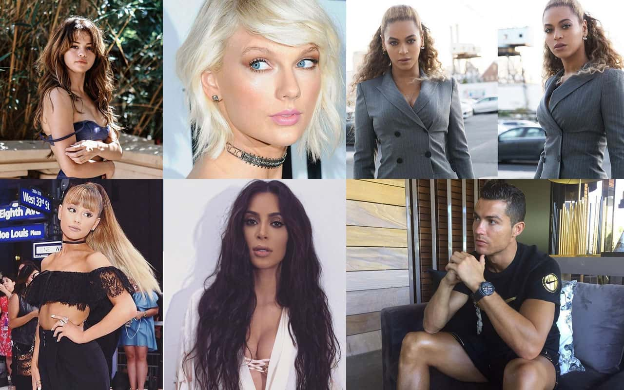 35 perfis de famosos mais tops do Instagram