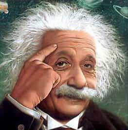 Img Mobile - Que destino foi dado ao c�rebro do Einstein?