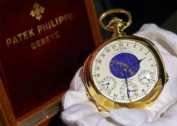Supercomplication de Patek Philippe