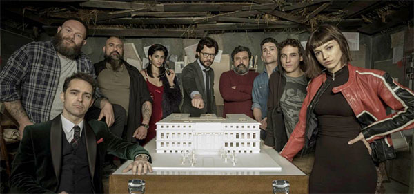 Personagens do La Casa de Papel