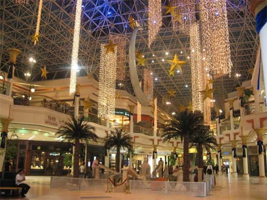 Qual a origem do Shopping Center?