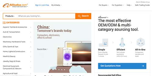Img Mobile - A história do site chinês Alibaba